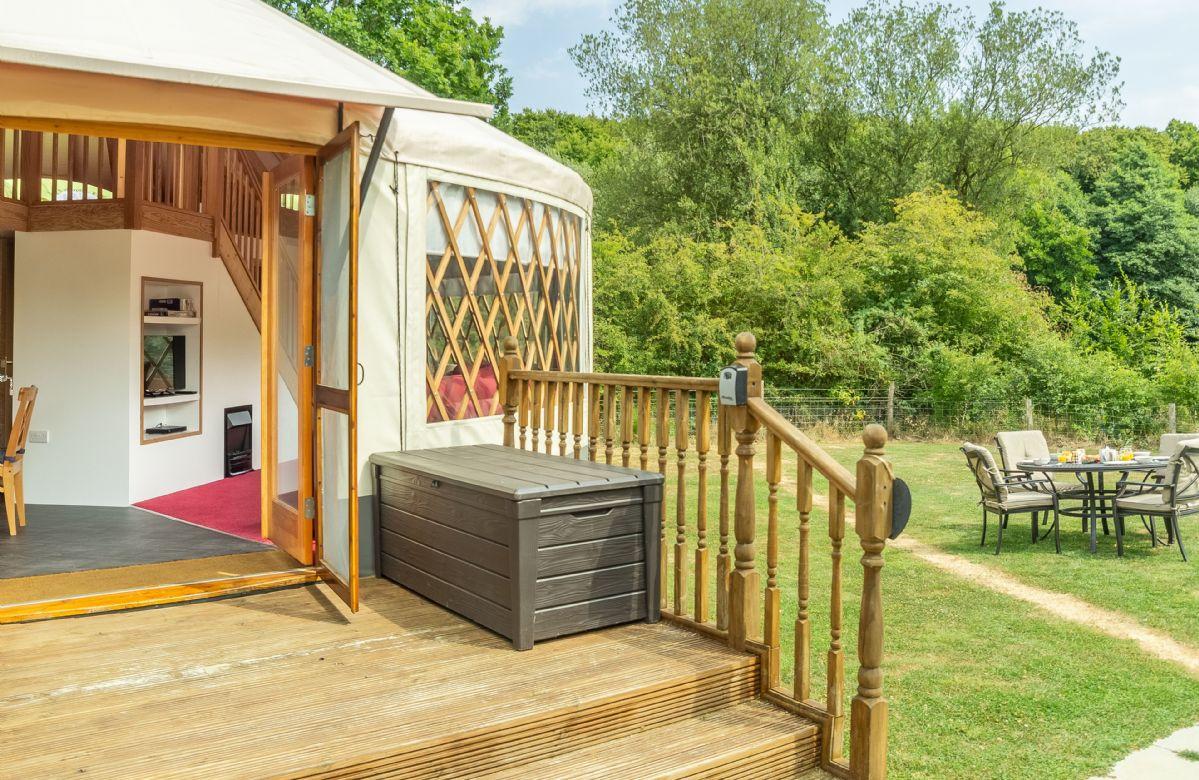 Short Break Holidays - Ash Yurt