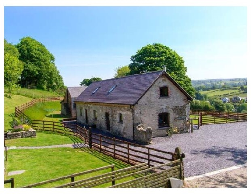 Short Break Holidays - Boffins Barn at Pen Isa Cwm